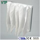 Filtro de bolso de la condición F5 del aire de la HVAC para la farmacia y el hospital