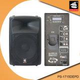 15 дюймов 350W цифров AMP Bluetooth EQ для диктора PS-1715depd PA Active iPod пластичного