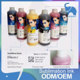 Tinta de la sublimación de Corea Dti de la alta calidad para la impresora