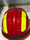 가득 차있는 닫히는 비상사태 구조 헬멧
