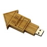 Деревянный дом форма USB флэш-диска