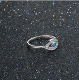 AAA CZ & 파란 화재 단백석 반지를 가진 중국 도매 보석