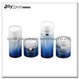 Bottiglia senz'aria rotonda della pompa 50ml della crema di fronte dell'imballaggio cosmetico dei pp