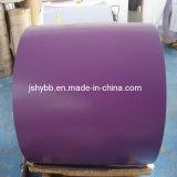 Катушка стали с полимерным покрытием синего цвета RAL5012