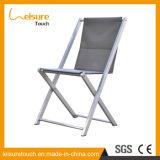 Loisirs Accueil corde Polyester chaise de jardin en aluminium poudré Hôtel Meubles de salle à manger