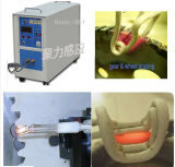 Máquina de calefacción rápida de inducción de la velocidad de la calefacción para el engranaje y la rueda que cubren con bronce de la soldadura