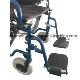 クイックリリースは、上塗を施してある車椅子を粉にする