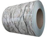 Pre-Painted acabado de piedra y madera de la bobina de aluminio acabado/hojas
