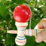 Giocattoli di legno giapponesi del gioco di sfera di coordinazione dell'occhio della mano del bambino di Kendama
