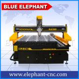 中国の青い象からの回転式装置CNC機械が付いている最もよい価格4の軸線の木工業CNCのルーター