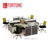 Sitzzelle des Kraftstoffregler-hölzerne Büro-Möbel-Arbeitsplatz-Entwurfs-4 (FOH-SS18-3214)