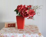 Ramo de Peonía Artificial/Rosa/Lily &Seda Flor de plástico