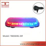 Feux de détresse du véhicule d'urgence rouge et bleu Mini stroboscopique Pinceau lumineux à LED