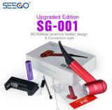 Nueva versión actualizada Seego SG-001 E Tubo con hierba seca vaporizador