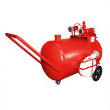 ステンレス鋼の消火活動のための移動式泡の単位