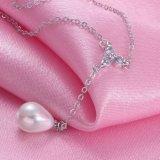 Collar del colgante de la perla de la joyería de 2017 mujeres de la manera