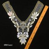 35*38cm Belle, Vintage Vintage Collier en dentelle Dentelle de mariage, Vintage dentelle nuptiale hme924