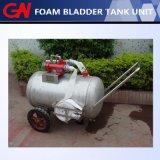 El tanque móvil de la espuma de la lucha contra el fuego
