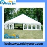 خيمة كبيرة مع ألومنيوم بنية و [بفك] تغطية