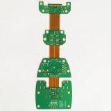 PCB Fabricante de oro de inmersión 8l de PCB Flex rígido