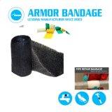 Verpackungs-Band-Verlegenheits-Loch im Stahlplastik-Belüftung-Rohr reparieren und Öl-Gas-Rohrleitung-Rohr-Reparatur-Verband lecken