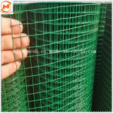 С покрытием из ПВХ сварной проволочной сетки для строительства и сельского хозяйства