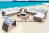 Bon marché de meubles de jardin patio étanche extérieur canapé en rotin (TG-1013)