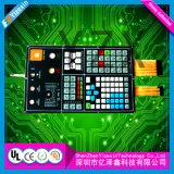 Industrial Control Touch Panel Membrane Switch Embossed Short props Keypad Membrane