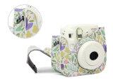 Fujifilm Instax Mini8 Zubehör-Blumen PU-lederner sofortige Kamera-Schulter-Beutel-Schoner-Deckel-Fall-Beutel der Kamera-8+ 9
