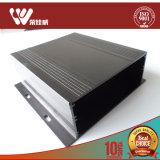 Cerco de alumínio personalizado da extrusão com preto anodizado