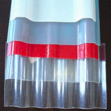 Рифленый лист поликарбоната анти- въедливый твердый для панелей изоляции