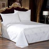 4 pedaço de algodão Jacquard Sateen Hotel Edredão cobrir define extras