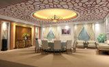 Haute qualité en bois 3D artistique de Décoration de mur extérieur panneau perforé