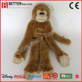 안전한 물자 박제 동물 연약한 장난감 견면 벨벳 원숭이