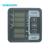 Painel Digital Multifuncional Frequencímetro GV57 para Grupo Gerador