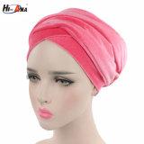 こんにちはアナの女性のための新しい方法ビロードのターバンの帽子