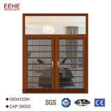 Het thermische Openslaand raam van het Aluminium van de Onderbreking met Dubbele Verglazing