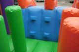 星のParaseleneの工場直接販売法6*3*2.5mのコマーシャルの空気販売のためにコンボ跳躍の城の膨脹可能な警備員