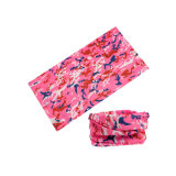 Headwear簡単な紫外線ポリエステルは乾燥した管のスカーフの速度をからかう(YH-HS482)