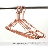 Hh nam de Gouden Kleerhanger van de Draad van het Metaal van het Koper Glanzende, De Hanger van het Metaal toe