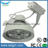 Base moyenne de rechange 35watt E27 de l'ampoule 300W de l'éclairage LED PAR30 suivant le corps de blanc de cornière de la lumière 45