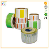 Impressão profissional da etiqueta e da etiqueta da alta qualidade