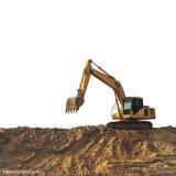 Première excavatrice hydraulique de chenille actionnée de marque par engine