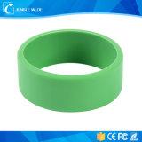 Wristband colorido do silicone do bracelete 13.56MHz RFID de RFID