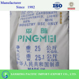 Poudre de carbonate de calcium Pingmei marque offrant