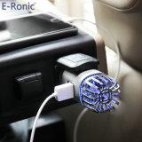 2018 новый продукт с двумя зарядное устройство USB Mini очиститель воздуха для автомобиля для домашней или автомобильной
