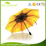 Voller Zoll Heat Faltender Regenschirm des Übergangs3