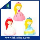 Piccola serie aumentante lenta del giocattolo della principessa Squishies Soft Kawaii PU Foam per i capretti