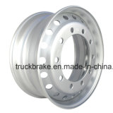 Cerchione senza camera d'aria di vendita del camion degli accessori d'acciaio caldi dell'automobile 9.0X22.5 per Steyr