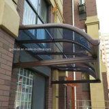 Personalizar hermosos refugios en el exterior de la ventana de policarbonato sólido de la puerta/ /cubierta de coche con precio de fábrica